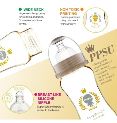PUKU PPSU Wide Neck Feeding Bottle 9oz / 280ml