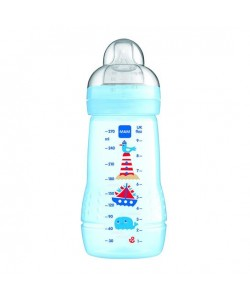 MAM Easy Active Baby Feeding Bottle 270ml Blue