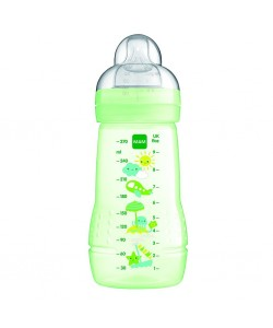 MAM Easy Active Baby Feeding Bottle 270ml Green