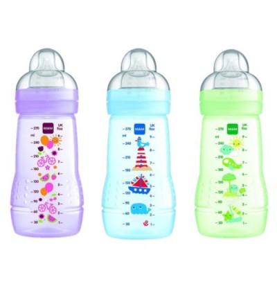 MAM Easy Active Baby Feeding Bottle 270ml Green