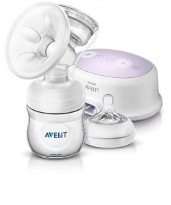 AVENT NATURAL SINGLE ELECTRIC BREASTPUMP STANDARD