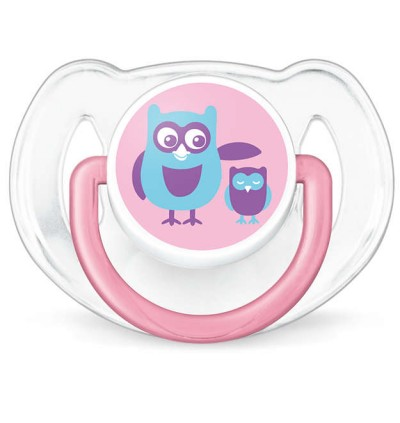 AVENT Classic Soother 6-18m (mix colour) (twin pack)