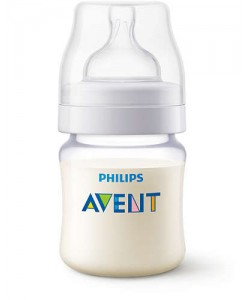 Avent PA Classic Feeding Baby Bottle 125ml/4oz (Single Pack)