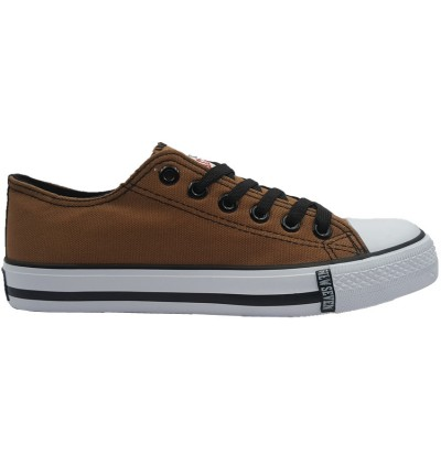 NEW SEVEN Unisex Round Toe Low Top Canvas Comfort Sneaker Shoes XW04