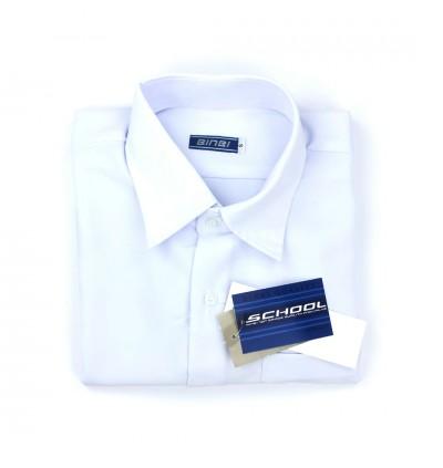 BINBI Primary School Uniform Boy Long Sleeve White Shirt (Koshibo)