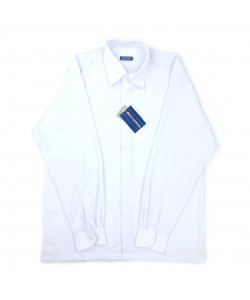 BINBI Primary School Uniform Boy Long Sleeve White Shirt (Koshibo)