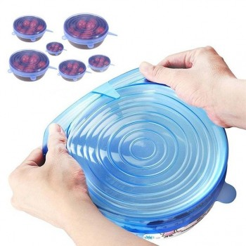 Multi Function Silicone Food Bowl Cover (Ready Stock)
