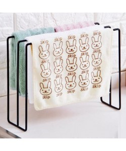 Japanese Wrought Iron Kitchen Rag Hanging Rack (Ready Stock)