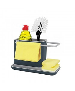 Creative Kitchen Storage Cleaning Sponge Drain Rack (Ready Stock)
