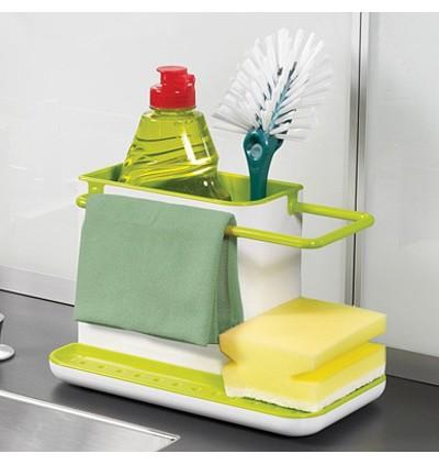 Creative Kitchen Storage Cleaning Sponge Drain Rack (Ready Stock)