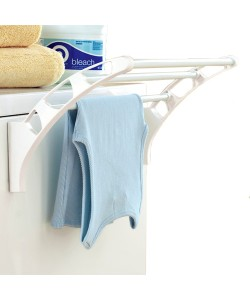 Multi Function Magnetic Hanging Rack Towel Rack (Ready Stock)
