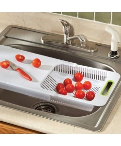 Multi Function 2 in 1 Kitchen Creative Cutting Board (Ready Stock)