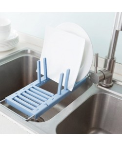 Kitchen Retractable Draining Rack Kitchen Dish Rack (Ready Stock)