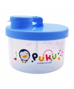 PUKU Baby Milk Powder Container Blue