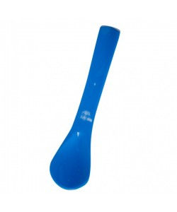 PUKU Baby Silicone Safety Spoon Blue