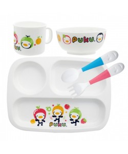 PUKU PP Tableware Set With Lunch Box