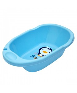 PUKU Baby Bath Tub-L Blue/Pink