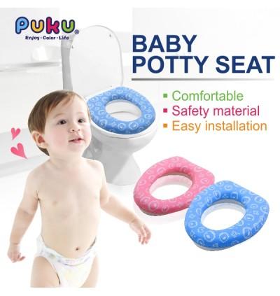 PUKU Baby Potty Seat Blue/Pink