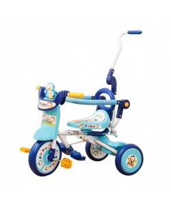 PUKU Folding Tricycle Blue/Pink