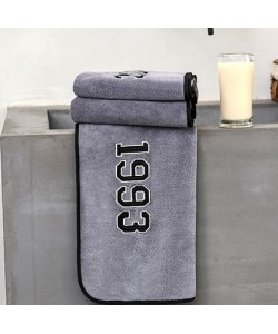 Superfine Fiber Years Hand Towel Grey (Ready Stock)