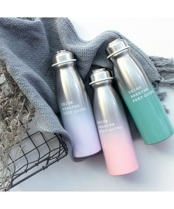 Gradient Stainless Steel Thermos 450ml (Ready Stock)
