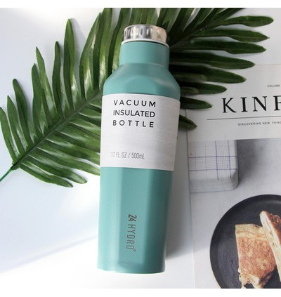 Square Vacuum Insulated Thermos 500ml (Ready Stock)