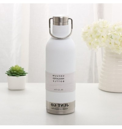 Portable Stainless Steel Thermos 473ml (Ready Stock)
