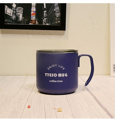 TYESO Stainless Steel Mug 350ml (Ready Stock)