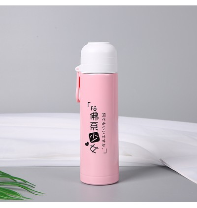 Buddhism Stainless Steel Thermos 500ml (Ready Stock)