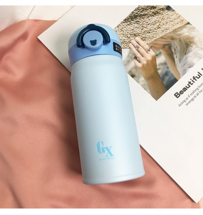 Bear Bens Stainless Steel Thermos Flask 350ml (Ready Stock)