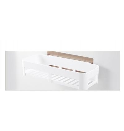 Bathroom Toiletries Storage Holder Seamless Stickers Rack Shelf (Ready Stock)