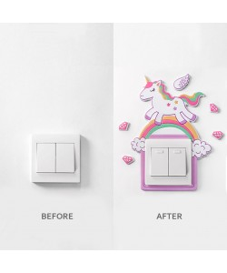 Decoration 3D Wall Socket Protection Sticker (Ready Stock)