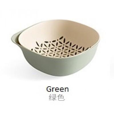 Fruit Vegetable Drain Basket Washing Basket (Ready Stock)