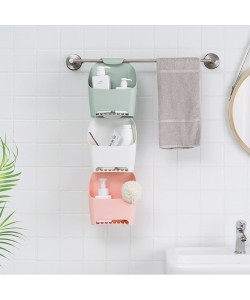 Bathroom Bath Storage Hanging Basket (Ready Stock)