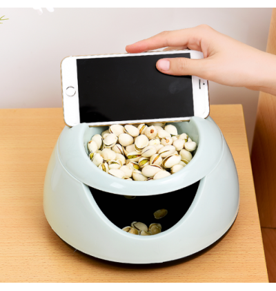 Creative Lazy Fruit Plate Food Storage Mobile Phone Stands (Ready Stock)