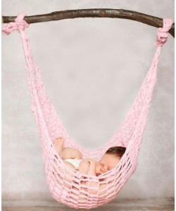 Newborn Baby Wool Hammock Photography Props (Ready Stock)
