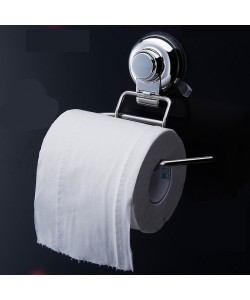 Stainless Steel Toilet Paper Holder Self Adhesive (Ready Stock)