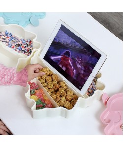 Snack Plate Candy Fruit Seal Box With Lid (Ready Stock)