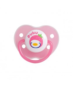 PUKU Baby Pacifier 0 - 6 months (Pink)