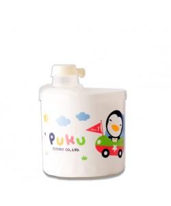 PUKU Baby Milk Powder Container 4 Dose (White)