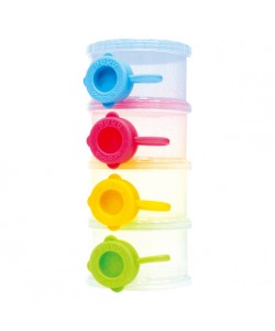 PUKU Baby Milk Powder Container with Bottom 4 Layer