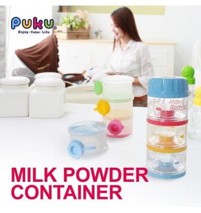 PUKU Baby Milk Powder Container with Bottom 4 Layer