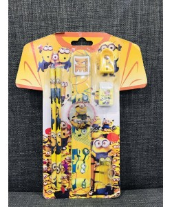 MINION 5 in 1 Stationery Set - 36602114