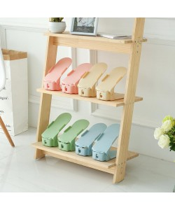 Double Layer Adjustable Shoe Rack (Pre-order)