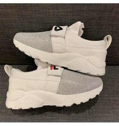 Women's Casual Slip-on Sport Shoe in White AH019-1W READY STOCK