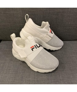 Women's Casual Slip-on Sport Shoe in White AH019-1W READY STOCK