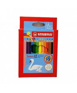 Stabilo Swans Colored Pencils 12-1877R