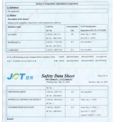 99.9 % HAND SANITIZER GEL 500ML (PRUKSAPORN) READY STOCK (Free Shipping)