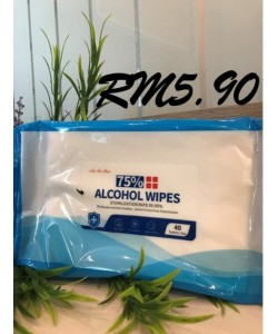 NA SIN RON 75% ALCOHOL WIPES (STERILIZATION RATE 99.99%)