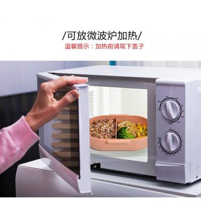 Anti-fall & Anti scald Portable Lunch Box 韩日式微波炉加热餐盒